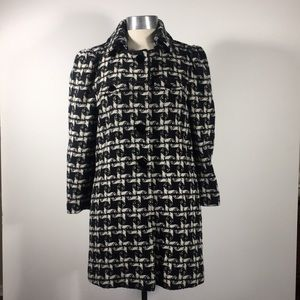 Juicy Couture wool mid-length coat